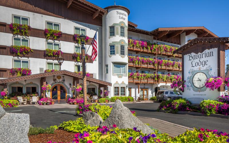 The Bavarian Lodge in Leavenworth Washington